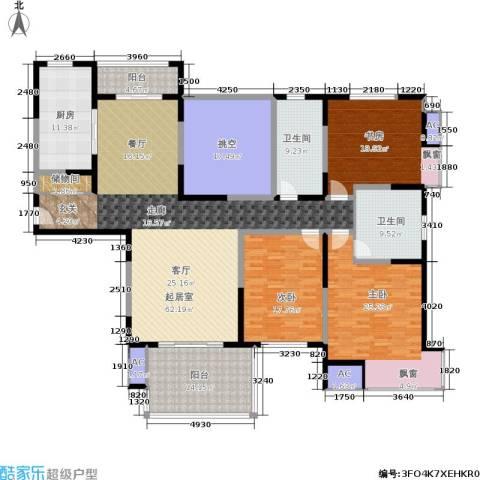 万科玲珑湾 玲珑湾3室0厅2卫1厨220.00㎡户型图