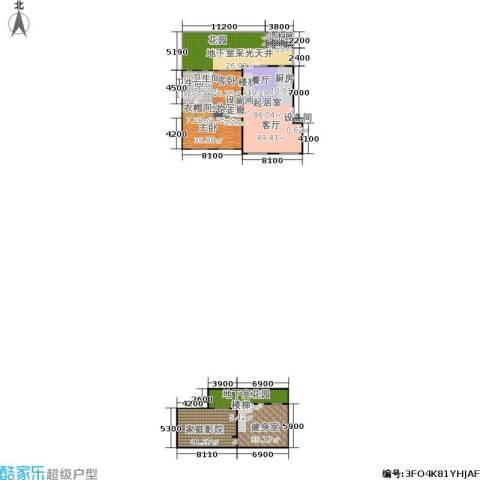 锋尚国际公寓2室0厅2卫0厨338.06㎡户型图