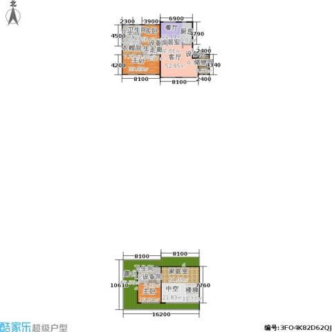 锋尚国际公寓3室0厅4卫0厨341.27㎡户型图
