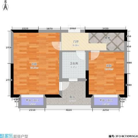 万科玲珑湾 玲珑湾2室0厅1卫0厨120.00㎡户型图