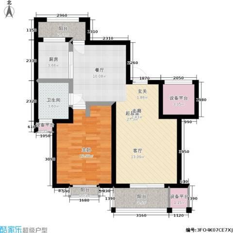 锦悦苑1室0厅1卫1厨70.00㎡户型图