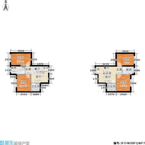 鑫丰又一城4室0厅2卫2厨74.99㎡户型图