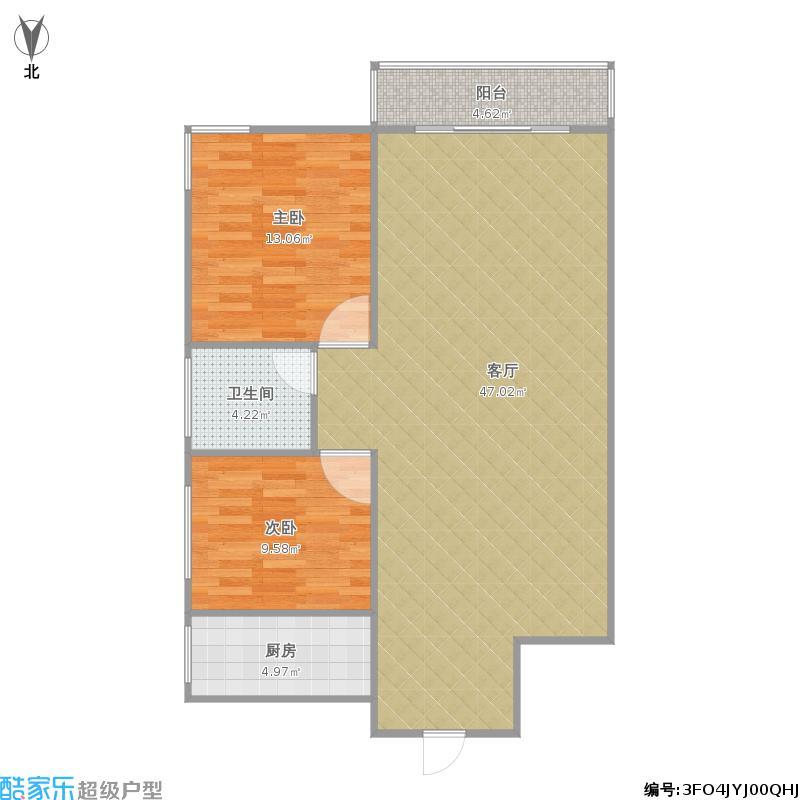 世纪佳园两室两厅