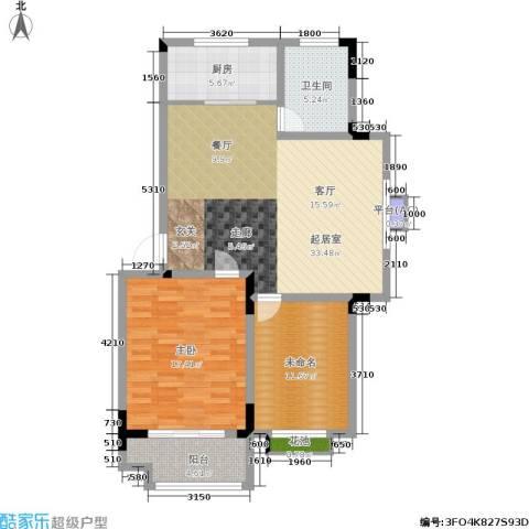 桑达园七期1室0厅1卫1厨112.00㎡户型图