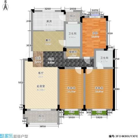 桑达园七期1室0厅2卫1厨162.00㎡户型图