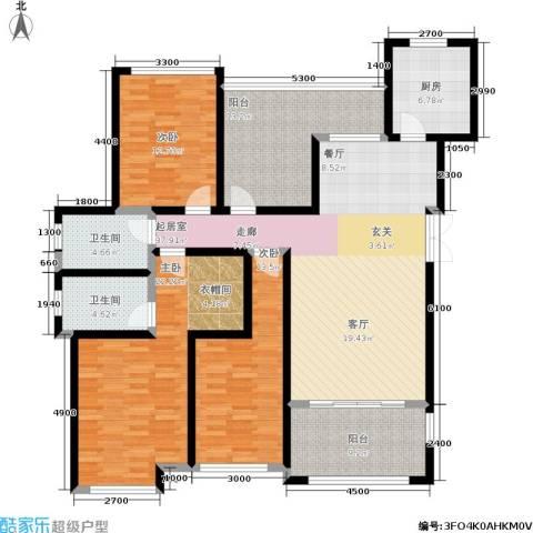 嘉盛格兰小镇3室0厅2卫1厨179.00㎡户型图