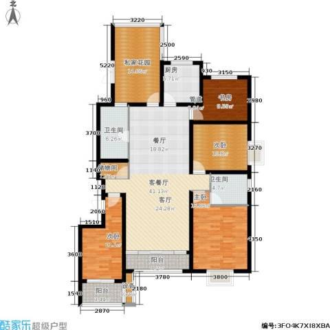 佳天・瑞宁花园4室1厅2卫1厨185.00㎡户型图