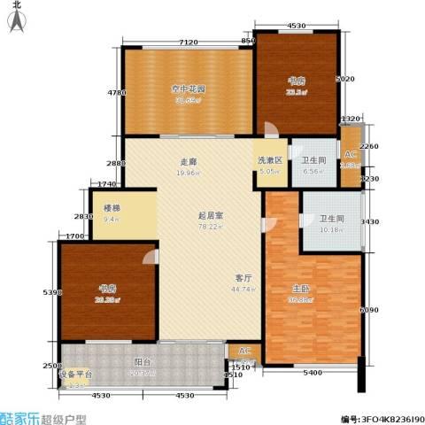 金鸡湖花园3室0厅2卫0厨260.00㎡户型图