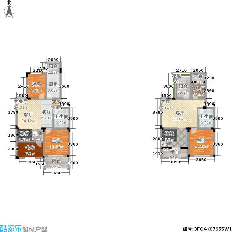 合肥172.78㎡三阳台17278m2户型