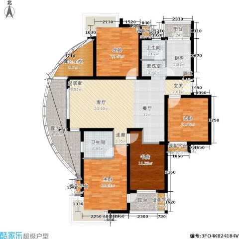 翡翠国际社区4室0厅2卫1厨149.00㎡户型图