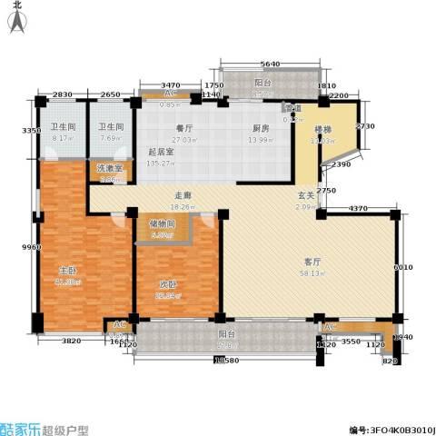 金鸡湖花园2室0厅2卫0厨270.00㎡户型图