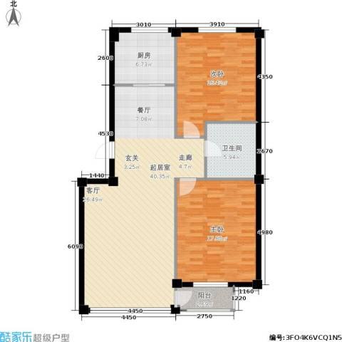 金润花园一期2室0厅1卫1厨124.00㎡户型图