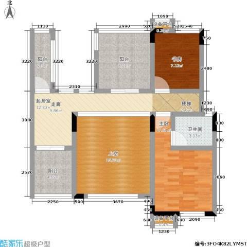 龙港红树林2室0厅1卫0厨100.00㎡户型图