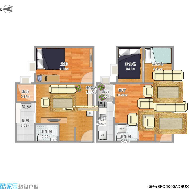 42方一室一厅