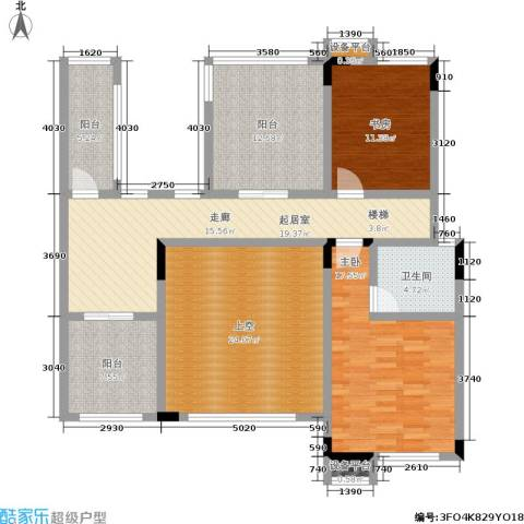 龙港红树林2室0厅1卫0厨121.00㎡户型图