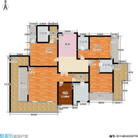 嘉盛格兰小镇5室0厅4卫0厨396.00㎡户型图