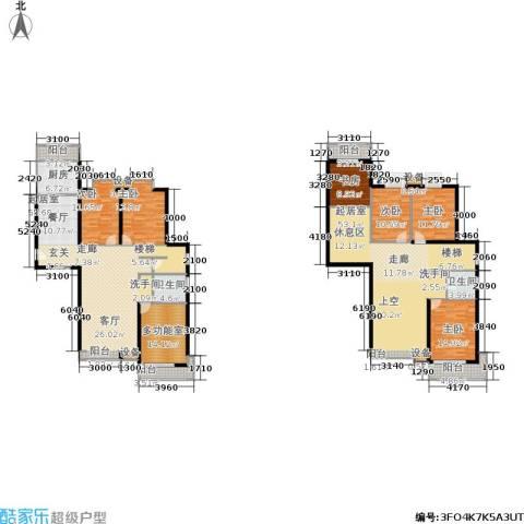 太原君泰风尚国际6室0厅2卫1厨323.00㎡户型图