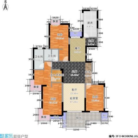 万科玲珑湾 玲珑湾3室0厅2卫1厨161.00㎡户型图