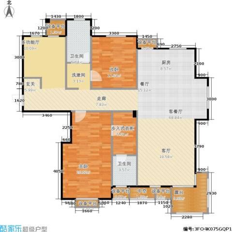 唯美品格2室1厅2卫0厨169.00㎡户型图