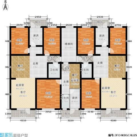 万福家园6室0厅3卫3厨336.00㎡户型图