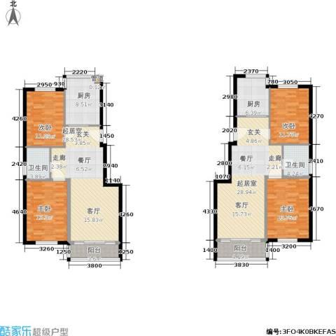 鑫丰又一城4室0厅2卫2厨138.47㎡户型图