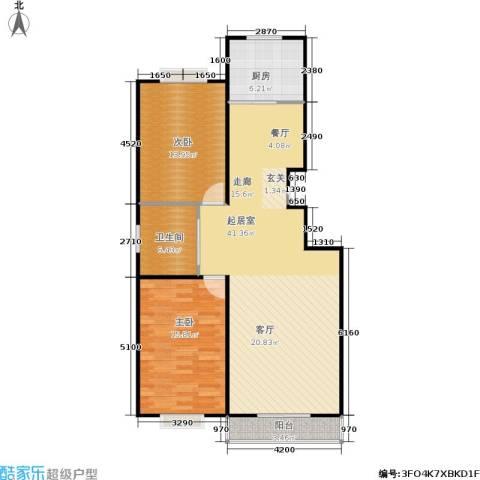 名仕之都2室0厅1卫1厨115.00㎡户型图