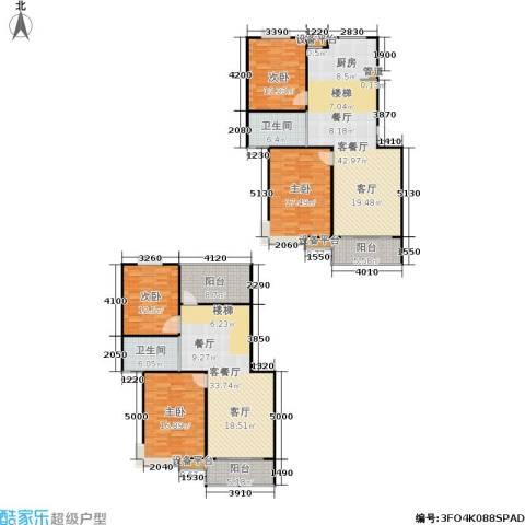 名园臻舍4室2厅2卫0厨185.00㎡户型图