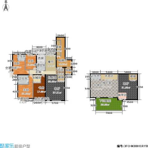 建邦华府4室0厅4卫0厨335.00㎡户型图