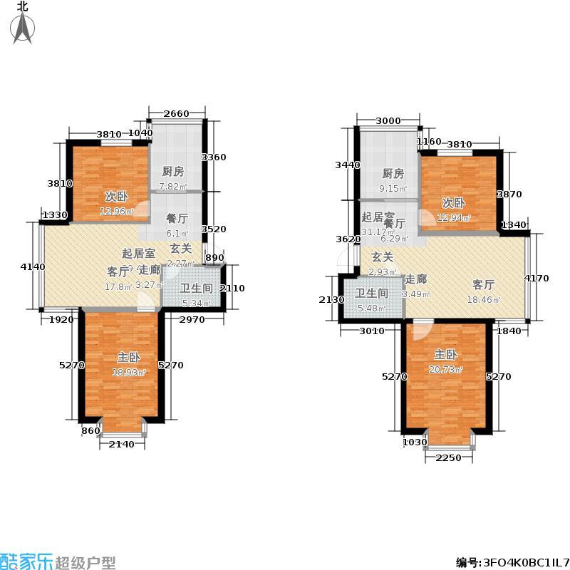 鑫丰又一城72.00㎡房型户型