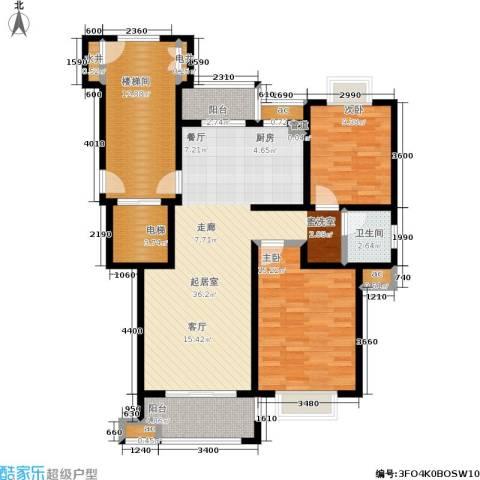 横塘西苑2室0厅1卫0厨91.00㎡户型图
