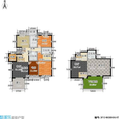 建邦华府3室0厅3卫0厨246.00㎡户型图