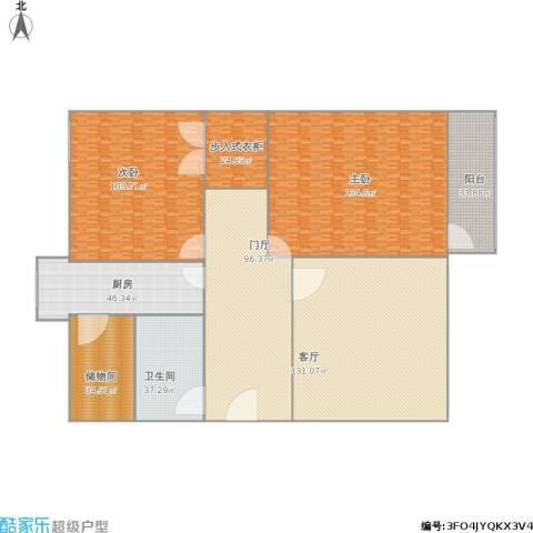 花园路单位宿舍2室1厅1卫1厨827.00㎡户型图