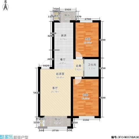 长安佳园2室0厅1卫0厨92.00㎡户型图