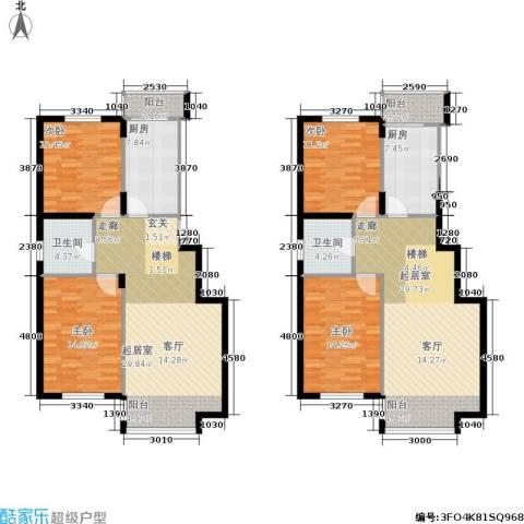 城建梦翔之家4室0厅2卫2厨194.00㎡户型图
