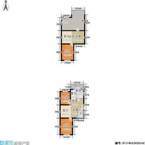 上城俪园3室0厅1卫1厨123.25㎡户型图