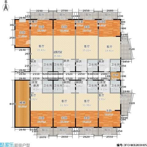 百盛・天心华庭1室1厅8卫0厨327.59㎡户型图