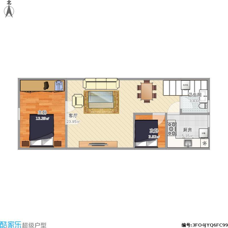 商品房二层家装