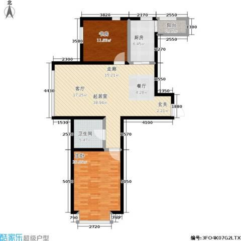 幻景家园2室0厅1卫1厨121.00㎡户型图