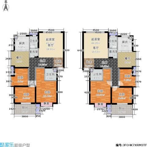 泰时・三湘金地6室0厅4卫2厨203.63㎡户型图