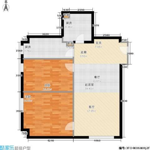 御览长安2室0厅0卫2厨93.00㎡户型图