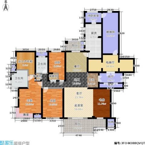 万科玲珑湾 玲珑湾3室0厅2卫1厨225.00㎡户型图