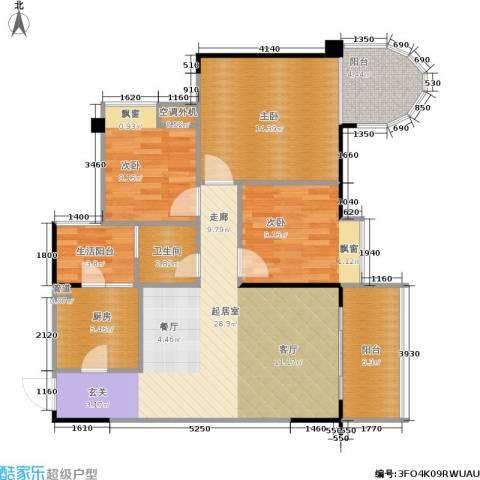 巨宇江南3室0厅1卫1厨113.00㎡户型图