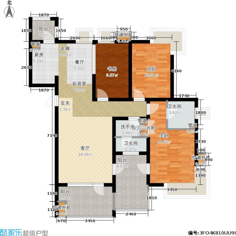 格林生活坊一期房型户型