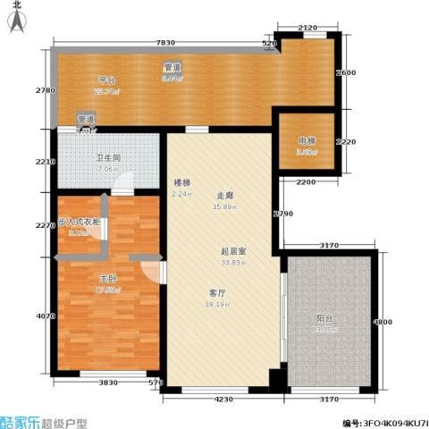 西溪蝶园二期 万科西溪蝶园1室0厅1卫0厨225.00㎡户型图
