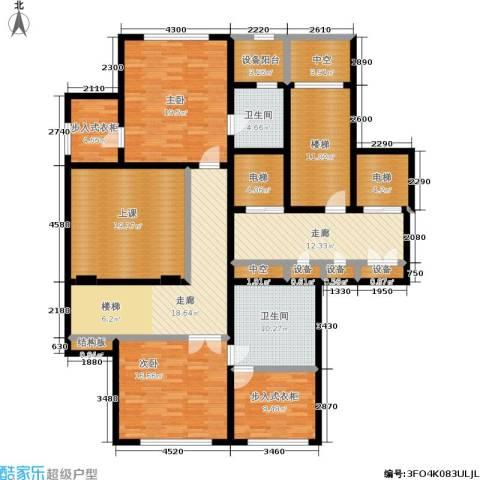 西溪蝶园二期 万科西溪蝶园2室0厅2卫0厨251.00㎡户型图