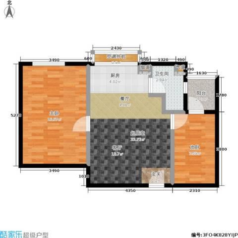 苏豪爱居2室0厅1卫0厨59.00㎡户型图