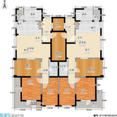 格林春晓4室0厅2卫2厨303.00㎡户型图