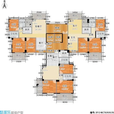 金利蓝湾新城9室3厅6卫3厨349.00㎡户型图