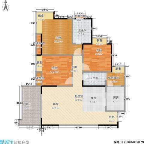 南源居3室0厅2卫1厨130.00㎡户型图