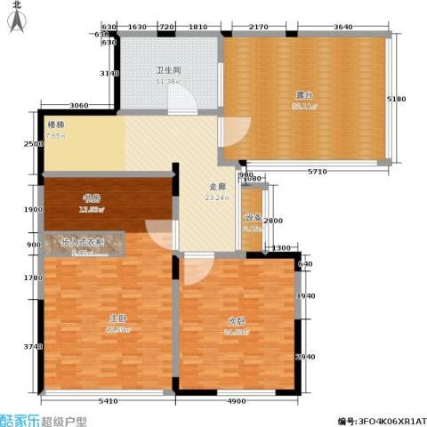 嘉业阳光城2室0厅1卫0厨152.00㎡户型图